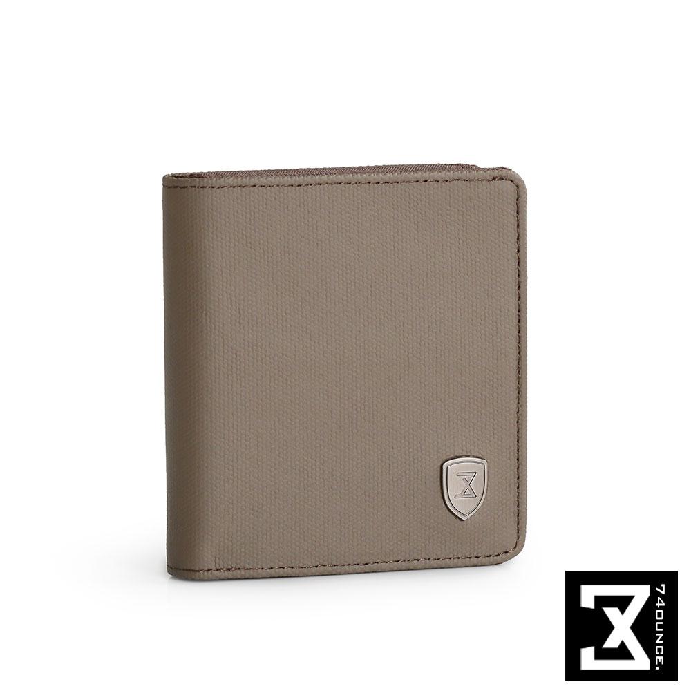74盎司 FIT 時尚側拉零錢短夾[N-509]軍綠