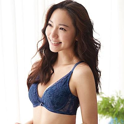 蕾黛絲-華麗V真水B-D罩杯內衣(知性藍)