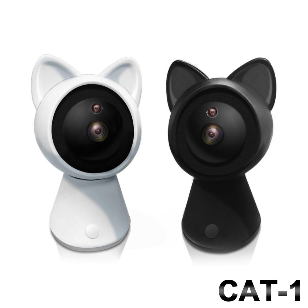 【Uta】御守貓真1080P無線網路智慧旋轉監視機Cat-1(高階版)