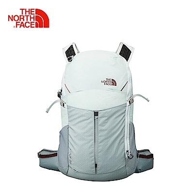 The North Face北面淺灰色便捷技術背包