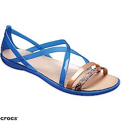 Crocs 卡駱馳 (女鞋) 伊莎貝拉繽紛涼鞋 205084-4HT