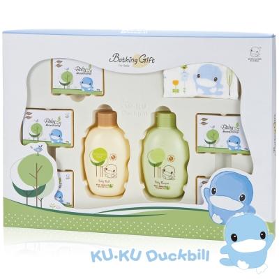 KU.KU酷咕鴨-酪梨油-燕麥蛋白萃取沐浴禮盒(1115)