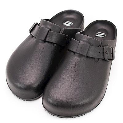 Roadpacer-男女包頭涼拖鞋BS 022 BLK-黑