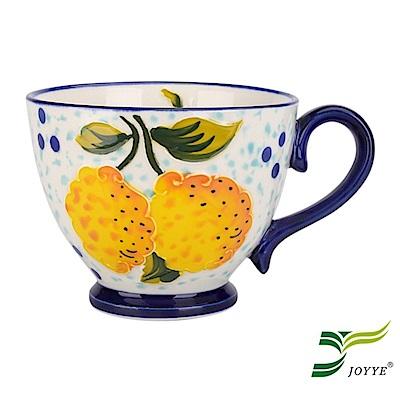 JOYYE陶瓷餐具 花如玉手繪C把杯-I