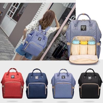 台日韓時尚潮流大開口媽媽包後背包