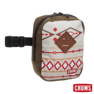 CHUMS-Sinawava-隨身腰包-可肩背斜背-與登山背包結合-棕