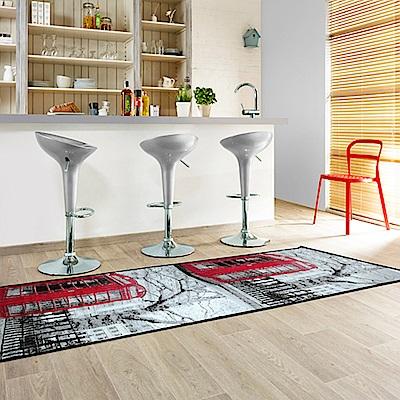范登伯格 - 快樂頌 進口絲質地毯 - 電話亭 (67 x 240cm)