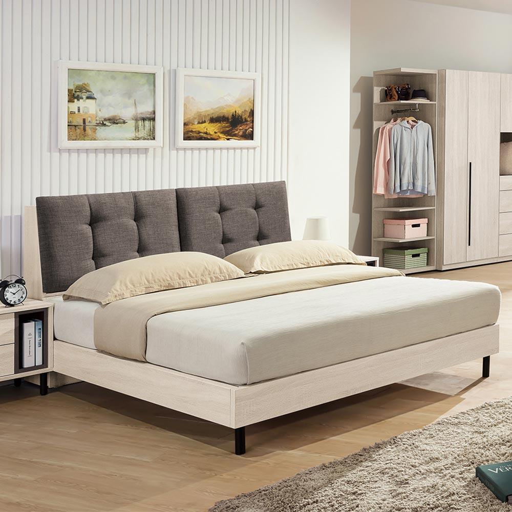 H&D 柏納德5尺床頭式床台