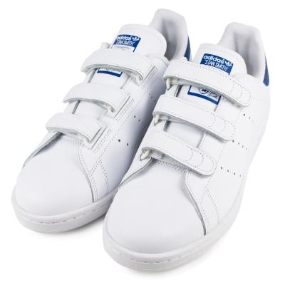 ADIDAS STAN SMITH 男休閒鞋 S80042 白藍