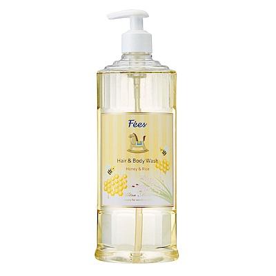 Fees法緻 嬰兒柔護洗髮沐浴精-蜂蜜米600ml