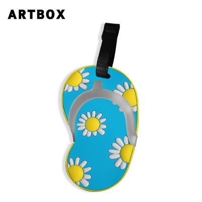 ARTBOX- 拖鞋造型行李吊牌(花朵系列-小雛菊)