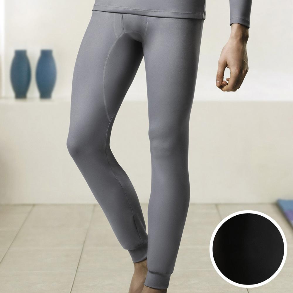 DADADO EKS保濕 SUPLY素面M-LL 保暖褲(深灰)