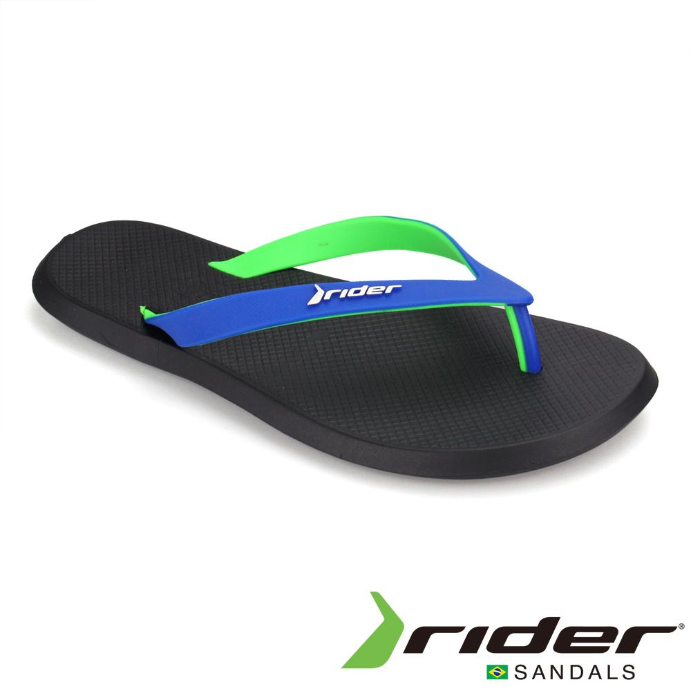 Rider 巴西 男 R1 AD 時尚機能夾腳鞋(黑藍)