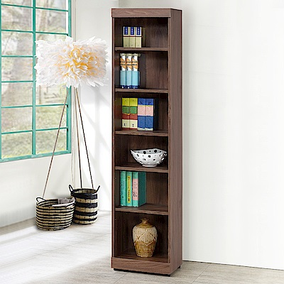 Homelike 蓋理1.3尺開放書櫃-41x32x183cm