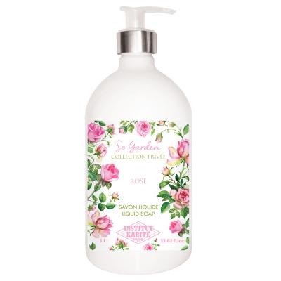 Institut Karite Paris 巴黎乳油木玫瑰花園香氛液體皂1000ml