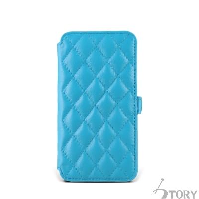 STORY皮套王 SAMSUNG S6 / S7 硬殼式側翻菱格 客製化皮套