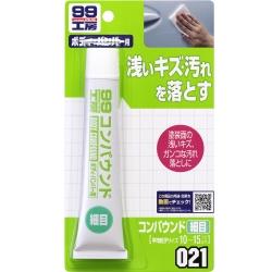 日本SOFT 99粗蠟(細目)65g-快