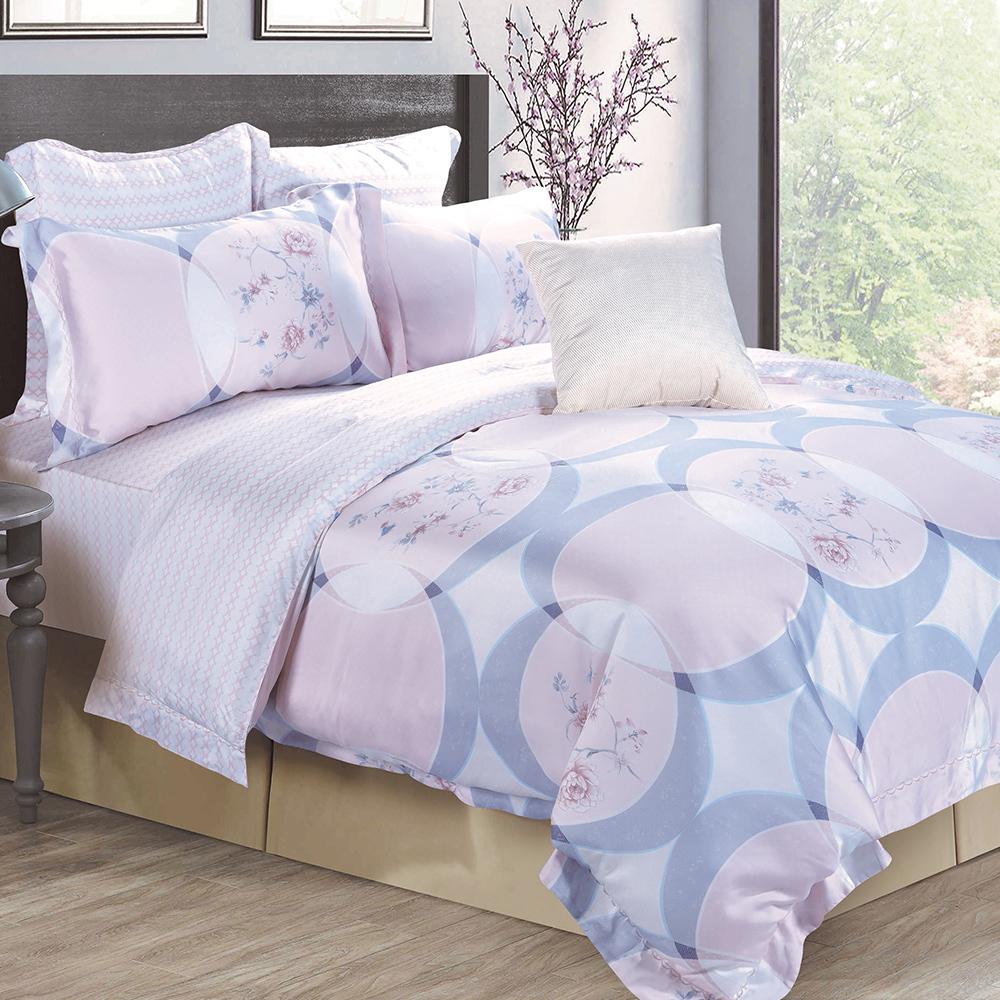 Lily Royal 天絲 特大-四件式兩用被床包組 溫莉莎