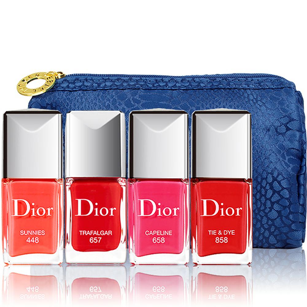 Dior 迪奧 指甲油(10ml)送美妝包隨機出貨一個