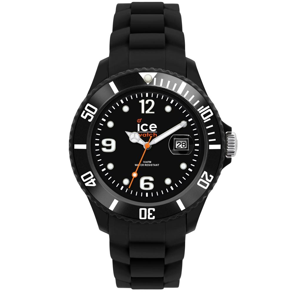 Ice-Watch 永恆系列 精工炫麗手錶-黑/43mm