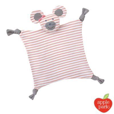 美國 Apple Park農場好朋友系列 有機棉安撫巾 - 芭蕾鼠娘