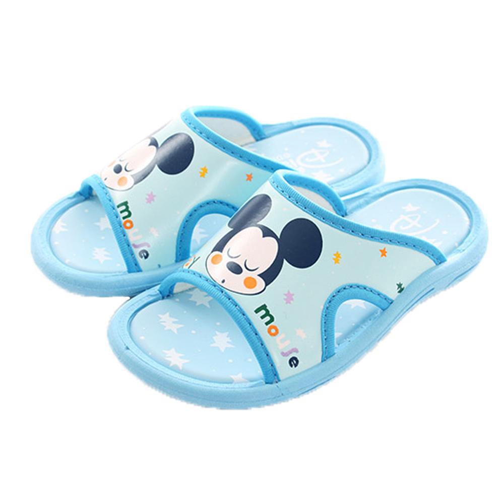 迪士尼米奇男童拖鞋 藍 sk0372魔法Baby
