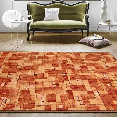 范登伯格 - 朝暘 進口地毯-星辰 (橘) (大款-200x260cm)