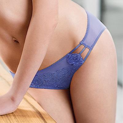 黛安芬-Premium Collection馥麗情迷M-EL低腰內褲(迴旋紫)