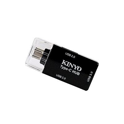 【KINYO】Type-C HUB集線器  (HUB-20)