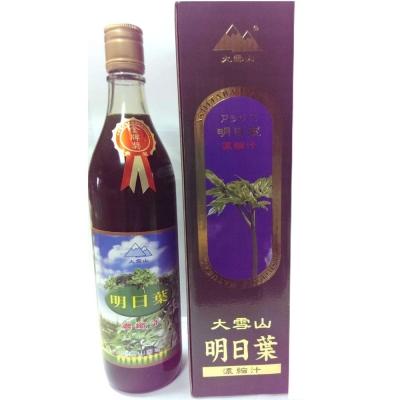 大雪山農場 明日葉濃縮汁(600公克x3瓶)