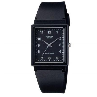 CASIO 超輕薄感簡約方型數字休閒錶-多色可選