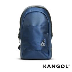 KANGOL 韓國經典單肩休閒包/學生包/情侶包-藍