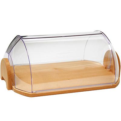 EXCELSA Realwood掀蓋式麵包收納盒(44cm)