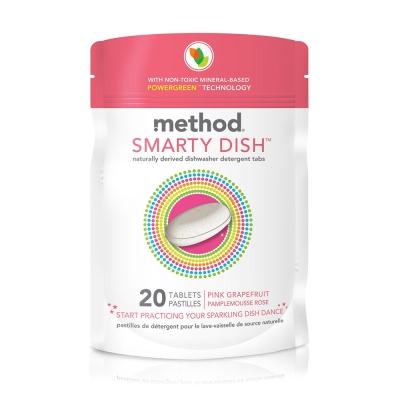 Method 美則聰明洗碗錠-粉紅葡萄柚365g-20入