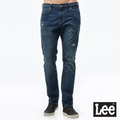 Lee 牛仔褲 726中腰標準小直筒牛仔褲/RG- 男款-藍