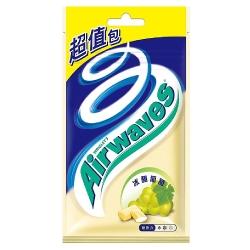 Airwaves 無糖口香糖冰釀葡萄口味超值包(44粒)