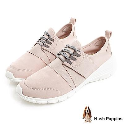 Hush Puppies CYPRESS 輕量綁帶式健走鞋-粉紅