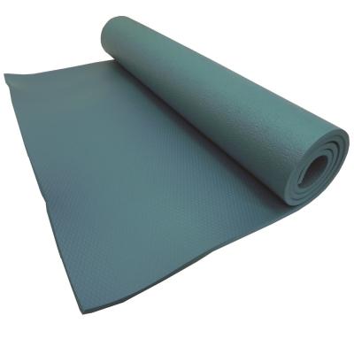 【SGS國際認證】NBR 專業雙人加寬雙壓紋10mm瑜珈墊.睡墊(湖水綠)