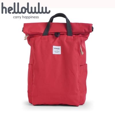 Hellolulu Tate多功能設計款後背包-紅