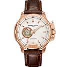 GIORGIO FEDON 1919 Timeless IV 義大利經典機械腕錶-白x玫