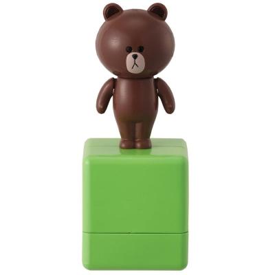 LINE滾輪印章-熊大
