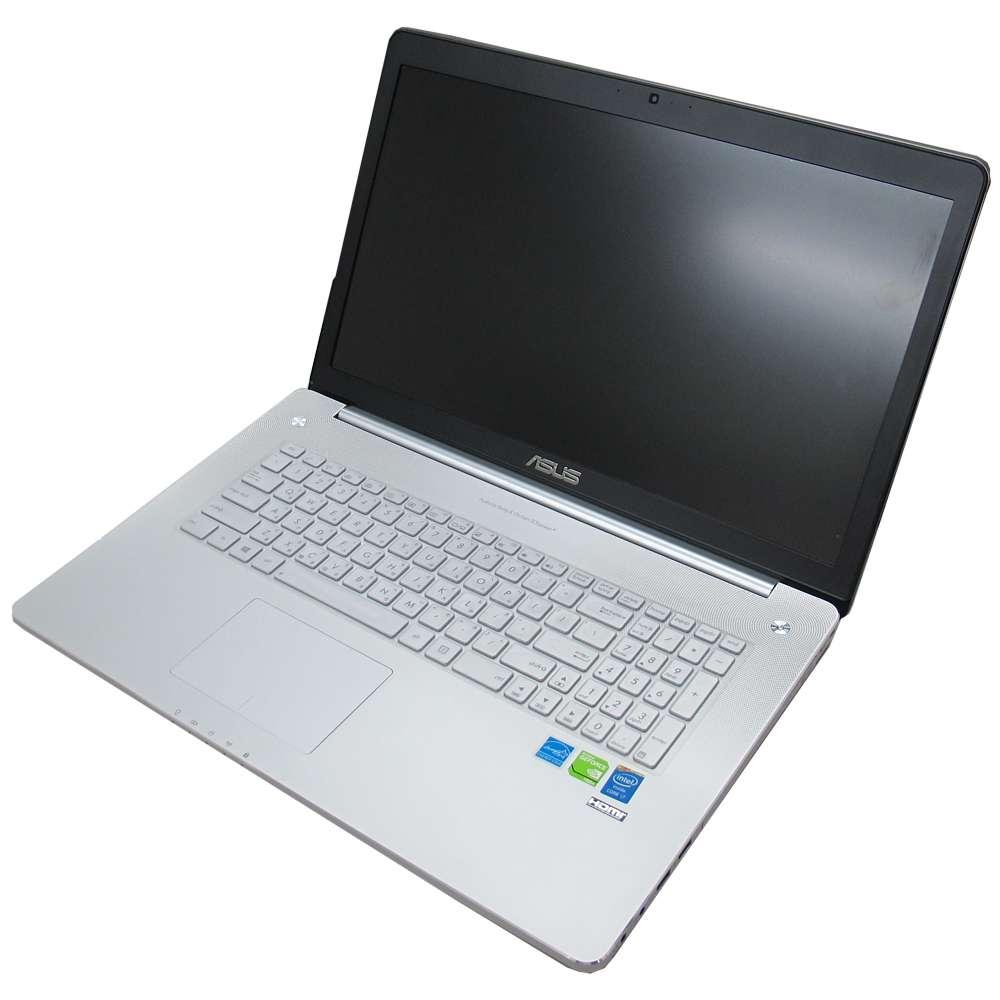EZstick ASUS N750 N750JV 專用奈米銀抗菌TPU鍵盤保護膜