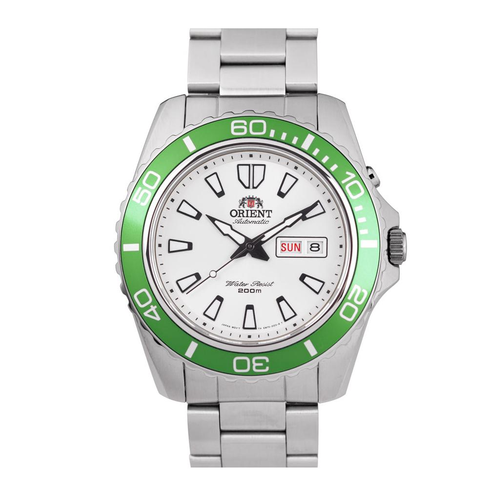 ORIENT 東方錶 深海游龍 綠水鬼 機械錶(FEM75006W)-綠/44mm