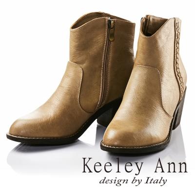 Keeley-Ann優雅迷人-甜美氣質麻花辮造型中