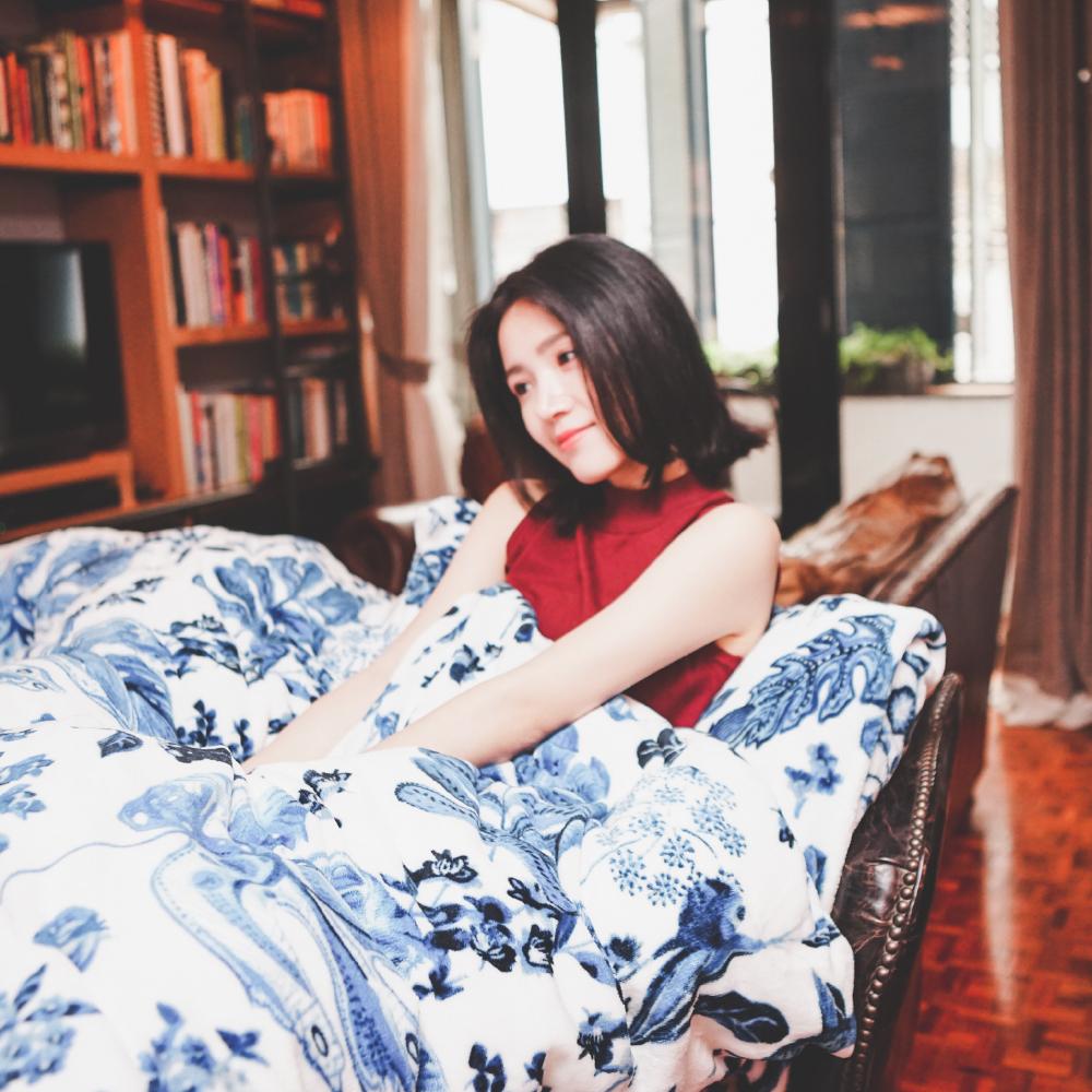 PRIMARIO 台灣製 雙人-防靜電極緻保暖法蘭絨被套/床包四件組 法藍