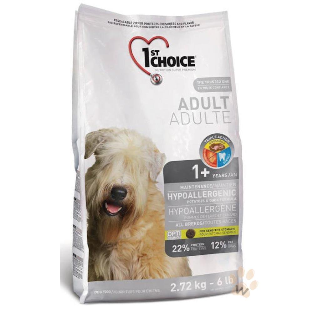 瑪丁 第一優鮮犬糧 全犬種複合式低過敏-鴨肉配方12kg