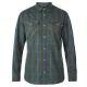 【Berghaus 貝豪斯】男款銀離子UPF50+保暖襯衫C05M01綠 product thumbnail 1