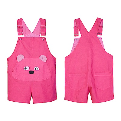 WHY AND 1/2 普普熊吊帶褲 5Y~10Y