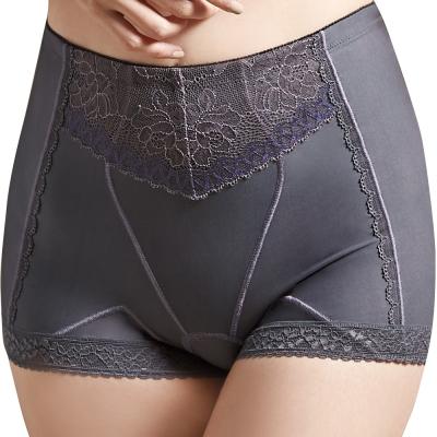 思薇爾-挺享塑系列64-76高腰中機能四角束褲-黯灰色