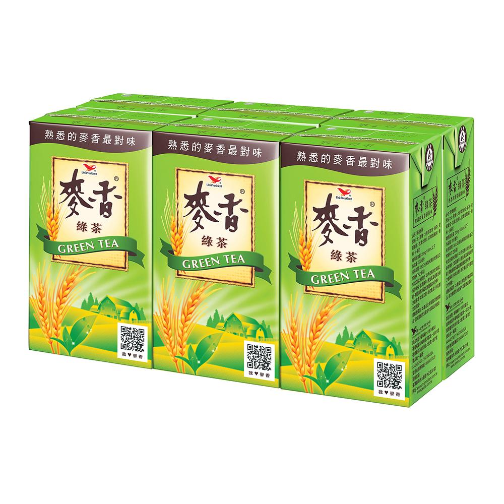 麥香 綠茶(300mlx6入)